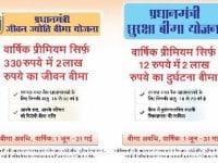 Jeevan Jyoti Bima Yojana (PMJJBY) vs Suraksha Bima Yojana (PMSBY)
