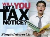 Reasons for getting Income Tax Notices