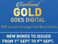 Sovereign Gold Bond 5th Tranche at Rs.3,150 from 1st September
