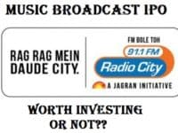 Music Broadcast IPO